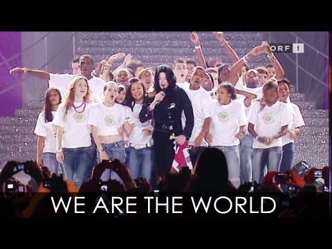 "Michael Jackson - ""We Are The World"" live at World Music Awards 2006"