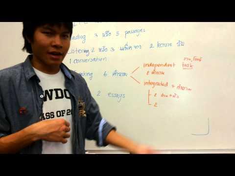 ข้อสอบโทเฟล (TOEFL) คืออะไร: ตอนที่ 1 อะไรคือข้อสอบโทเฟล