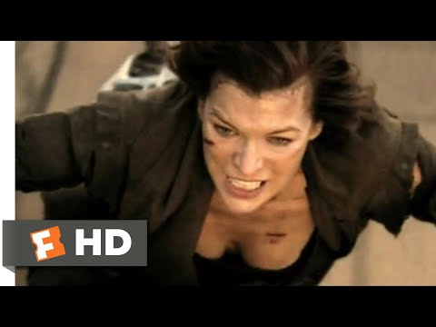 Resident Evil: The Final Chapter (2017) - Zombie Convoy Escape Scene (3/10) | Movieclips