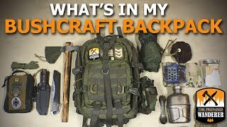 Whats In My Bushcraft Backpack