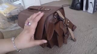 LederMann Leather Camera Bag