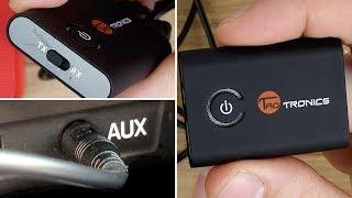 Bluetooth Nachrüsten! Auto, Fernseher, Stereoanlage & Co // Sender + Empfänger // TaoTronics TT-BA07