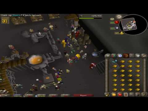 osrs blast furnace gold ore smithing swtich gloves method
