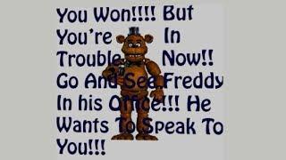 NEW THE SECRET ENDING!! Freddy's Basics / All Freddy's in Baldi's Basics