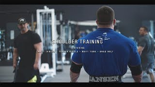 Shoulder Training | Feat Matt Jansen, Turner Riddle, Matt York & Brad Holt | Project x 18