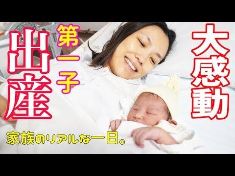 【号泣】グピコズ一家の感動面白出産物語2!〜陣痛から出産〜生まれて来てくれてありがとう!