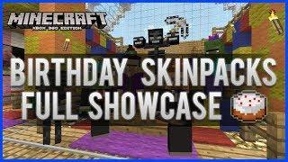Minecraft Xbox 360 The Birthday Skin Pack Revealed Ender