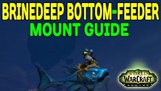 BRINEDEEP BOTTOM-FEEDER: Mount Guide (WoW LEGION) !!