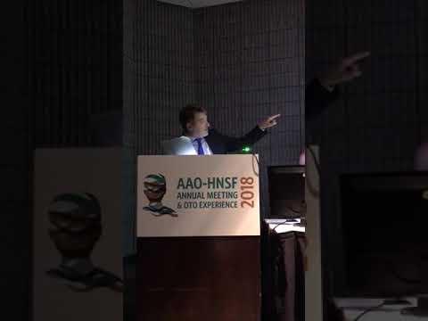 Encuentro anual de la Academia Americana de otorrinolaringología