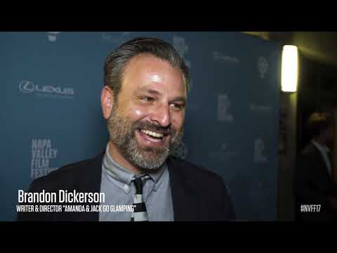 Brandon Dickerson on The Red Carpet | Amanda & Jack Go Glamping | NVFF17