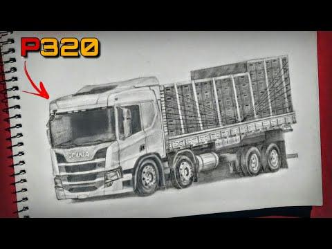 Desenhei a Nova P320 Da Scania