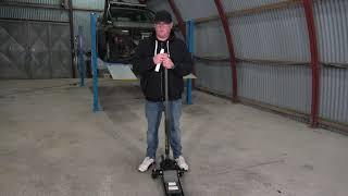 Rodcraft Wagenheber 8951082026 RH215 Testbericht vom Matze