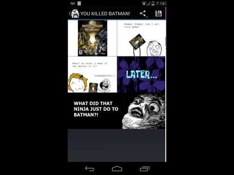Video of Rage Comics Reader