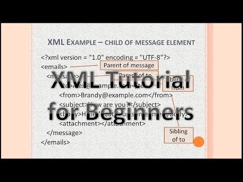 XML Tutorial for Beginners   XML Video Tutorial   XML schema tutorial for beginners   What is XML