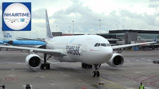 AIR TRANSAT AIRBUS A330-200 AIRCRAFT VISIT
