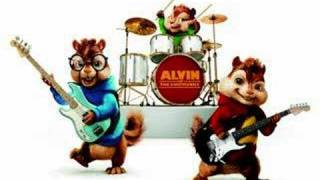 Alvin and the chipmunks singing Christmas Time