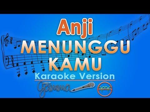 Anji   menunggu kamu  karaoke lirik tanpa vokal  by gmusic