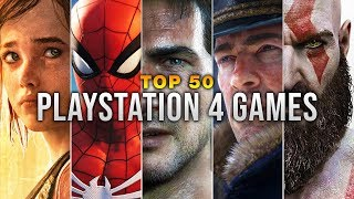 Top 50 PlayStation 4 Games - RobinGaming