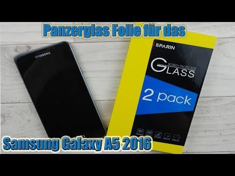 Sparin Panzerglas für das Samsung Galaxy A5 2016 Anleitung und Test A3