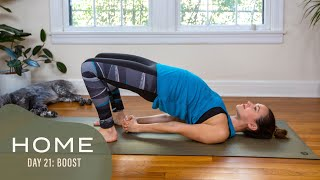 Home-Day 21-Boost | 30 Days of Yoga With Adriene