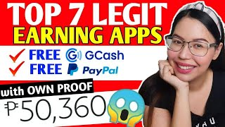 TOP 7 HIGHEST FREE EARNING APPS | EARN FREE P50,000 | LEGIT PAYING APPS 2020 | FREE GCASH MONEY