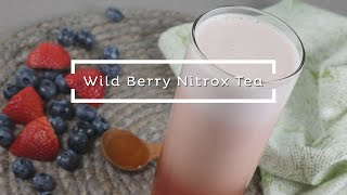 Wild Berry Nitrox Tea - Product Demo Video Recipe