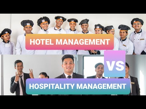 Hotel vs Hospitality Management ? What to choose ? - YouTube