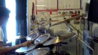 Arcturus - Raudt Og Svart (Drum Cover)