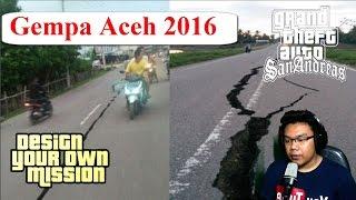 Detik  Detik Terjadinya <b>Gempa</b> Aceh 64 SR Aceh 7122016 GTA Extreme Indonesia