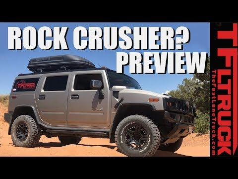 Hummer H2 vs Moab Off-Road Preview