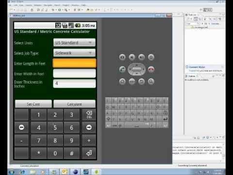 Video of Concrete Calculator US/Metric
