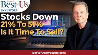 Stock Market Has Crashed!  What Do I Do Now?