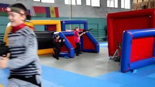 Лазертаг в Харькове в спортивном зале. Форпост