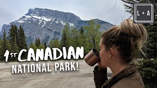 BANFF National Park, Amazing Camping - Canadian Full Time RV Vlog