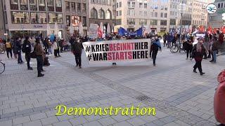 #Antisiko 20.2.2021 Demonstration vom Münchner Marienplatz zum Bayerischen Hof