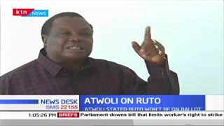 Francis Atwoli clarifies what he meant when he stated that DP Ruto won't be on the ballot