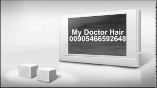 أحد السادة أثناء عملية  زراعة الشعر