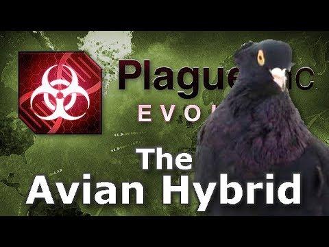 Plague Inc: Custom Scenarios - The Avian Hybrid