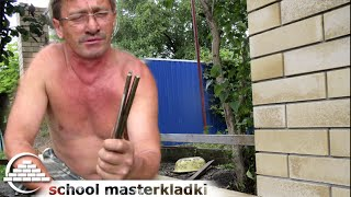 Приспособление для кладки кирпича своими руками Кирпич