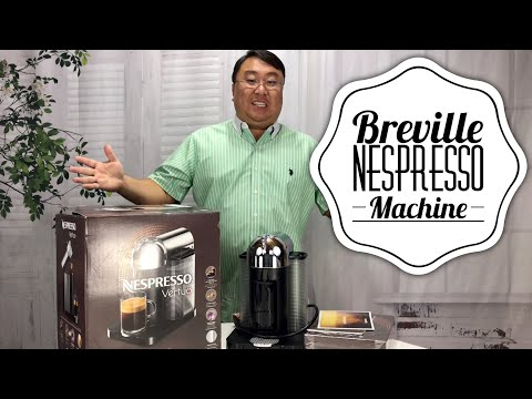 Breville Nespresso Vertuo Coffee and Espresso Machine Review