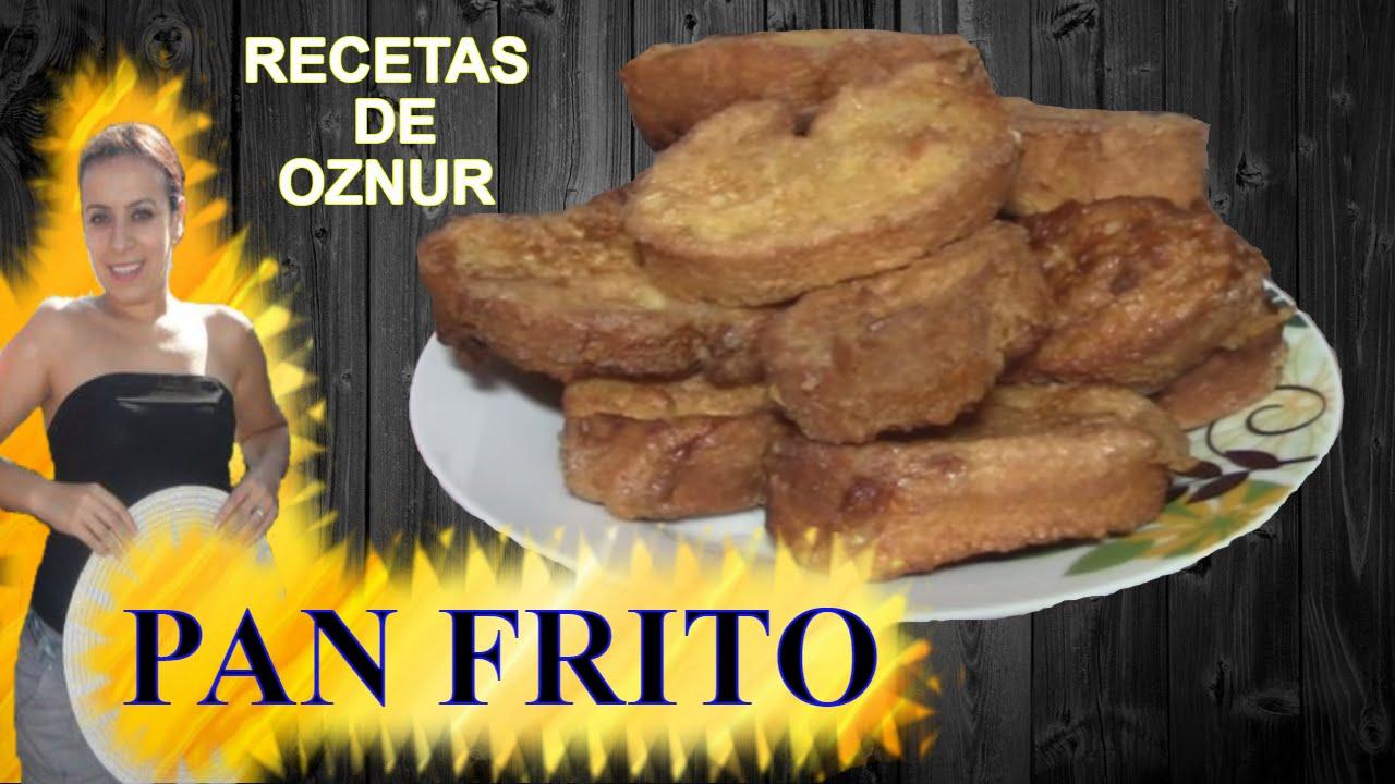 PAN FRITO CON HUEVO | recetas de cocina faciles rapidas y economicas de hacer - comidas ricas