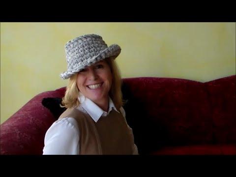 How to fashion - Modischer Hut zum selber häkeln