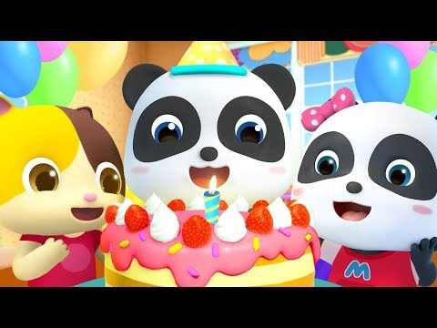 Happy Birthday Song | Colors Song, Monster Car | Nursery Rhymes | Kids Songs | Kids Cartoon |BabyBus