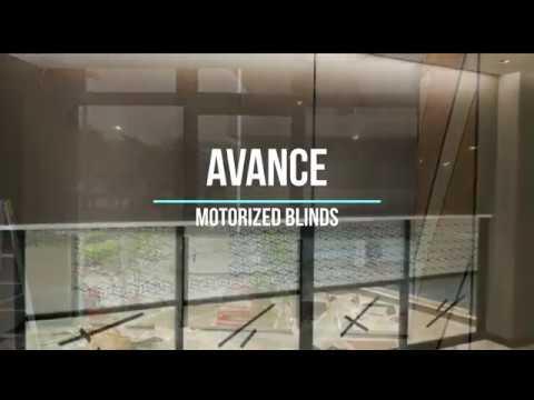 Avance Motorized Blinds System