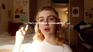 Sustainability in 2020!! (how to live a more sustainable lifestyle)