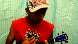 Spending all my time Ukulele cover by Aaron Fresh