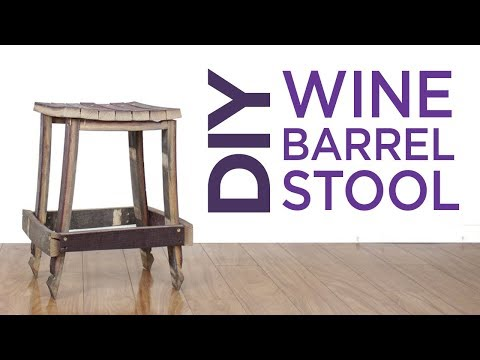 Wine Barrel Stool | 26