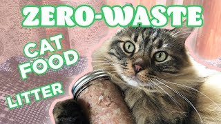 This Is A Zero-Waste Cat