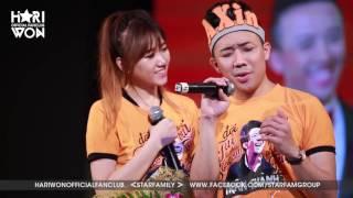 Hari Won, Trấn Thành song ca ngọt ngào và hát live Yêu Không Hối Hận   Offline Trấn Thành   SFCAM