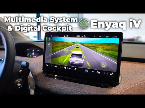 Skoda Enyaq iV 2021 Multimedia System & Digital Cockpit